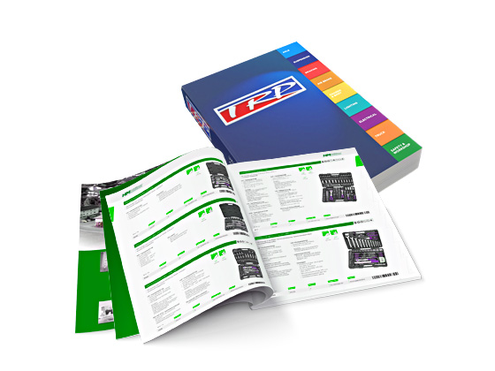 Brochures and Catalogues printing in Moscow